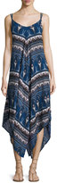 Bishop + Young Paisley-Print Maxi Dress, Blue Multi
