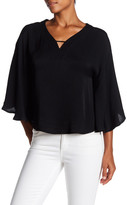 Ppla Martina Butterfly Sleeve Blouse