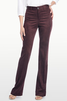 NYDJ Teresa Trouser In Faux Suede
