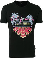 Just Cavalli graphic print T-shirt - men - Cotton - XL