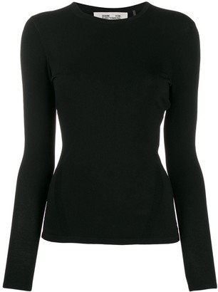 Diane von Furstenberg slim-fit long-sleeve T-shirt