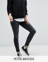 Vero Moda Petite High Waist Washed Skinny Jeans