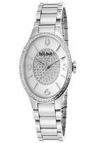 Bulova Women's Diamond Bracelet Watch - 0.36 ctw