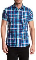 Robert Graham Wells Woven Short Sleeve Shirt