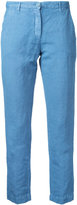 Massimo Alba cropped trousers - women - Cotton/Linen/Flax - 42