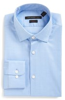 John Varvatos Men's Soho Slim Fit Stretch Solid Dress Shirt