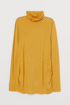 H&M MAMA Polo-neck top