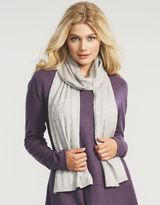 Figleaves loungewear Cashmere Blend Twinkle Cable Scarf