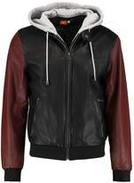Gipsy Leather Jacket Black/red