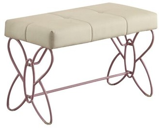 Kutsi Faux Leather Bench Ebern Designs