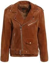 12 Midnight BIKER Leather jacket rose