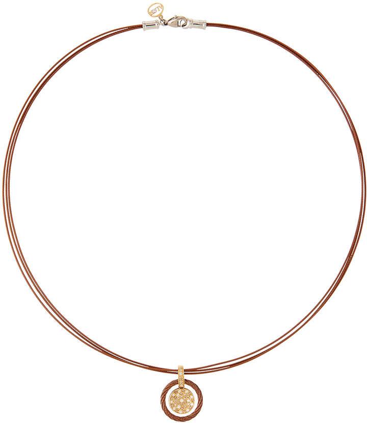 Alor Petra Diamond Pavé Pendant Necklace