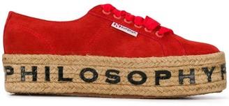 Philosophy di Lorenzo Serafini Superga x sneakers