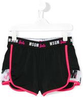 MSGM running shorts