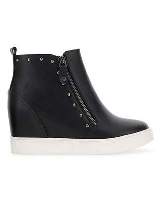 Simply Be Dulcie Wedge Trainer Wide Fit
