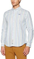 La Martina Long Sleeve Multicolor Strip,Men's Shirt,,S