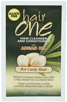 Hair One Argan Oil Hair Cleanser Conditioner Packette