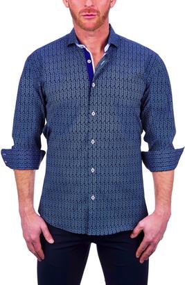 Maceoo Einstein Intermi Stretch Button-Up Shirt