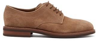 Brunello Cucinelli Suede Derby Shoes - Grey