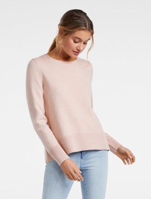 Ever New Sophie Crew Neck Essential Sweater