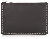 Fendi Stitch-embellished Leather Pouch