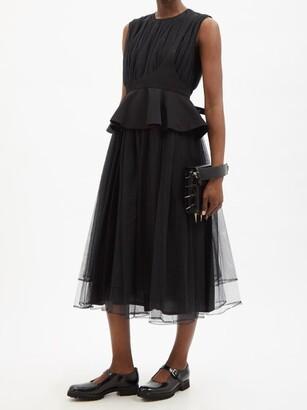 Noir Kei Ninomiya X Church's Mary Jane Leather Pumps - Black