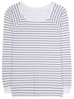 Velvet Lele striped cotton T-shirt