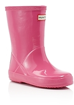 Hunter Girls' Original Kids First Gloss Rain Boots - Walker