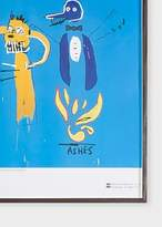 Paul Smith Jean-Michel Basquiat - The Dingoes That Park Their Brains With Their Gum - Framed Poster