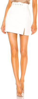 superdown Melina Slit Mini Skirt