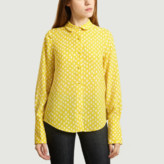 Essentiel Antwerp - Yellow Polka Dot Blouse - 34