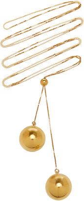 Bottega Veneta Multi Layer Metal Necklace