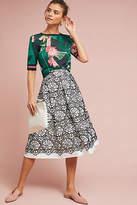 Eliza J Callas Lace Skirt