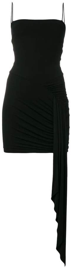 Alexandre Vauthier draped fitted dress