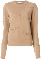 J.W.Anderson pocket feature sweater - women - Cashmere/Virgin Wool - S