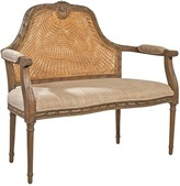 The Well Appointed House French Reproduction Marquis Cane Settee