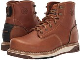 Georgia Boot AMP LT Wedge Steel Toe 6 Work Boot (Light Brown) Men's Boots