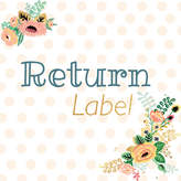 Etsy New Address / Return Label - Purchase for Postage