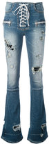 Unravel Project - destroyed jeans - women - Cotton/Polyester/Spandex/Elastane - 29