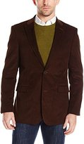 Tommy Hilfiger Men's Brown Willow Fine Cord 2 Button Sport Coat