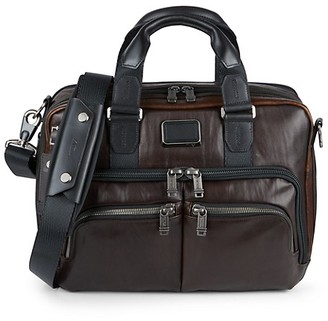 Tumi Albany Slim Leather Commuter Brief Bag