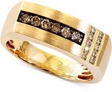 Effy Men's Brown Diamond Ring (1/3 ct. t.w.) in 14k Gold