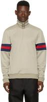 J.w. Anderson Grey Jersey Track Jacket