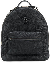 Versace Baroque embroidered backpack