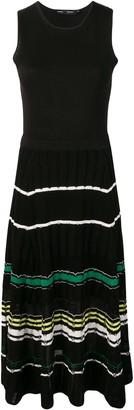 Proenza Schouler Striped Rib Dress