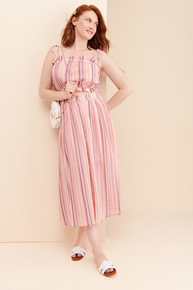 ENGLISH FACTORY Candy Stripe Skirt
