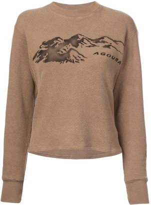 Yeezy Season 6 printed thermal sweater