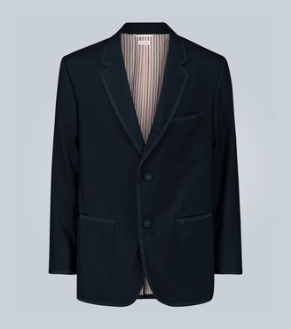 Thom Browne Exclusive to Mytheresa a grosgrain-trimmed tuxedo jacket