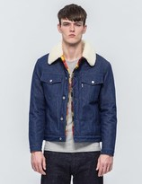 MAISON KITSUNÉ Denim Trucker Jacket