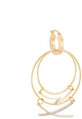 Mounser Mobile Hanging Hoop Earring